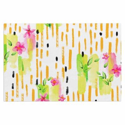 Watercolor Garden Doormat