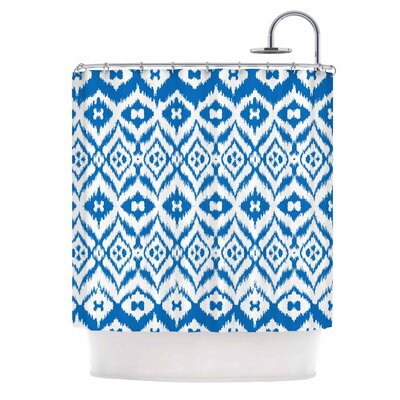 Vk_Ikat Tribal Shower Curtain