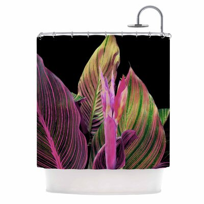 In the Dark Digital Shower Curtain