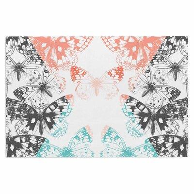 Geo Butterflies Doormat