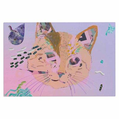 Psychedelic Cat Doormat