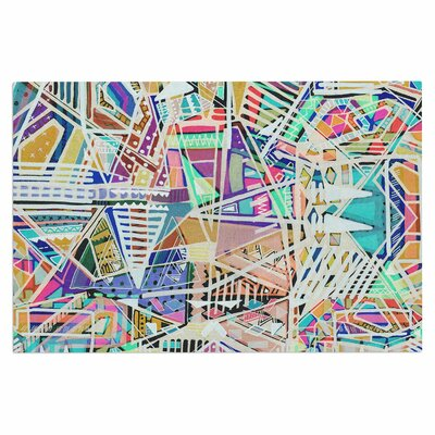Abstract Geometric Playground Doormat