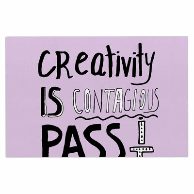 Creativity is Contagious Doormat
