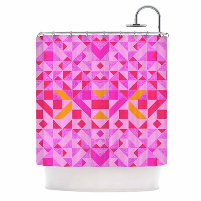 Candy Geometric Shower Curtain