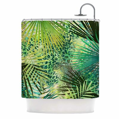 'Animal Jungles' Digital Shower Curtain