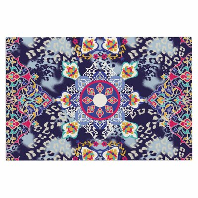 Eastern Medallion Vector Decorative Doormat
