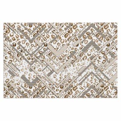Abstract Animal Chevron Doormat