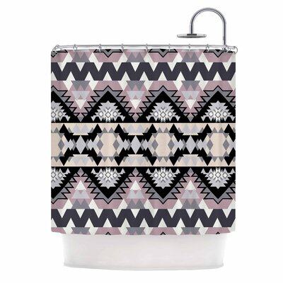 Nordic Ice Digital Shower Curtain