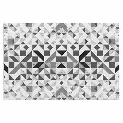 Monochrome Geometric Doormat