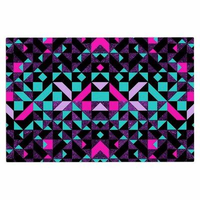 Geometric Galaxy Doormat