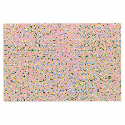 Peach Lepoard Doormat