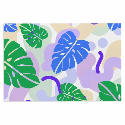 Monstera Tropical Plant Doormat