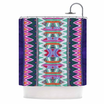Folk Tribal Ethnic Tribal Shower Curtain