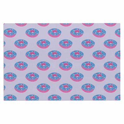 Pastel Doughnut Heaven Pop Art Decorative Doormat