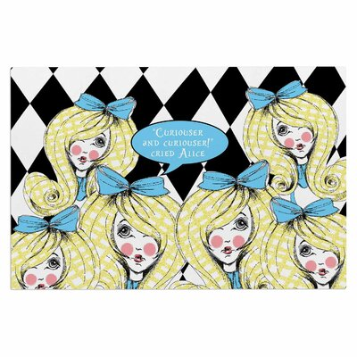 Curious Alice Doormat