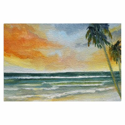 End of Day Beach Decorative Doormat
