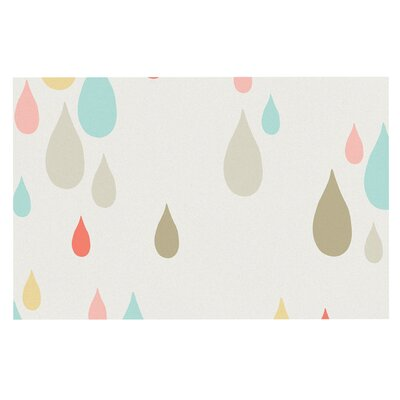 'Rainy Days' Rain Decorative Doormat