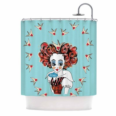 Off with Her Head Shower Curtain