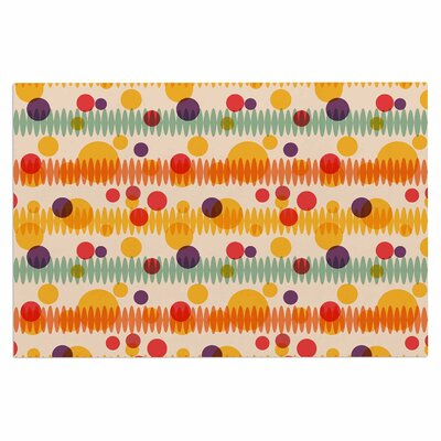Bubble Stripes Fun Doormat