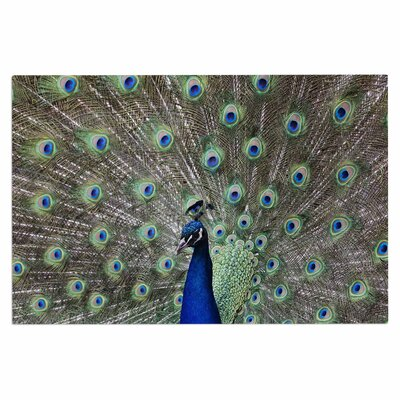 'Peacock of Stunning Feathers' Doormat