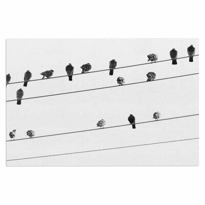 Birds on Wire Doormat
