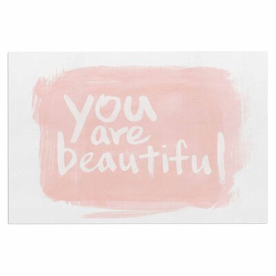 'Brush Lettering Beautiful' Doormat