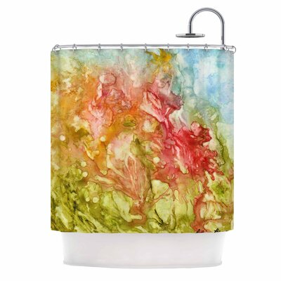 Fantasy Garden Painting Shower Curtain