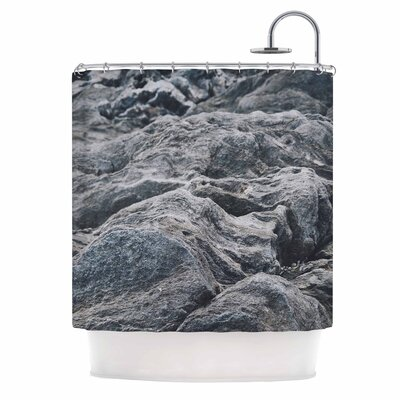 Stone Landscape Nature Shower Curtain