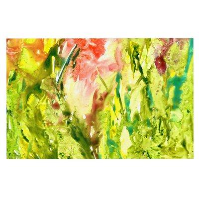 Green Thumb Paint Decorative Doormat