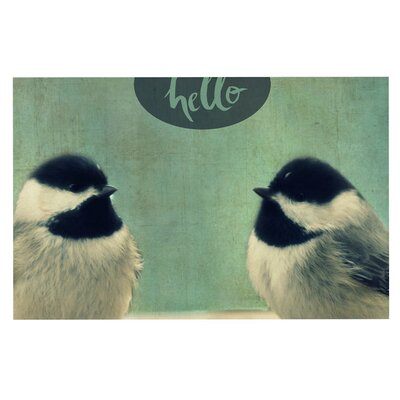 Hello Birds Doormat
