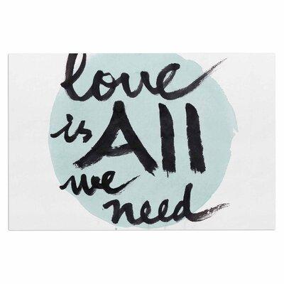 Love is All We Need Doormat