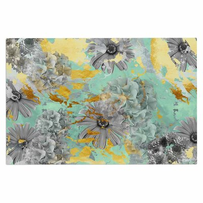 Mint Gold Garden Doormat