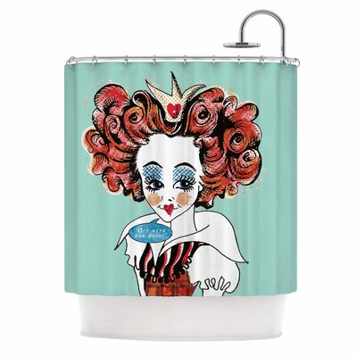 Queen Redhead Shower Curtain