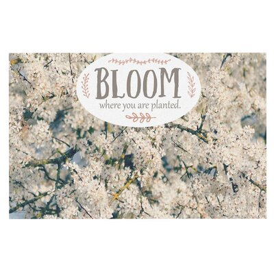 Bloom Where You Are Planted Doormat