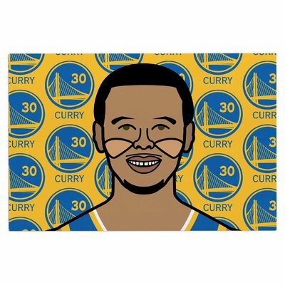 Steph Curry Sports Decorative Doormat