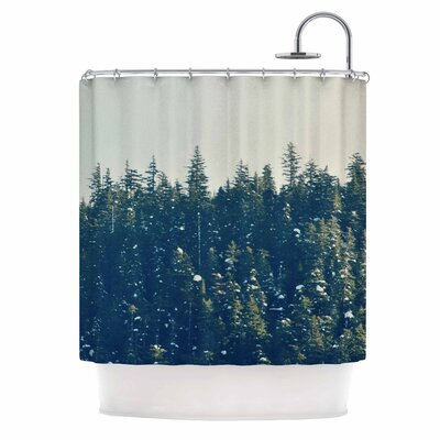 Take the Road Less Traveled Shower Curtain