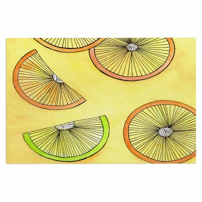 Lemons and Limes Fruit Decorative Doormat
