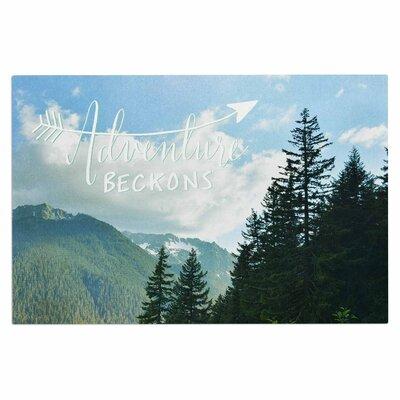 Adventure Beckons Nature Landscape Decorative Doormat