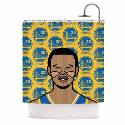 Steph Curry Sports Shower Curtain