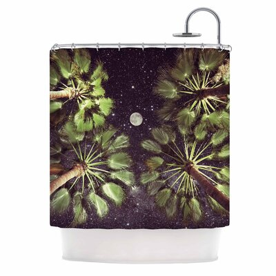 Elevated Paradise Shower Curtain