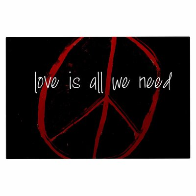 Love is All We Need Doormat