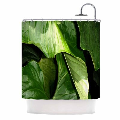 Garden Shadows Shower Curtain