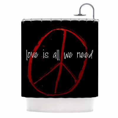 Love is All We Need Shower Curtain