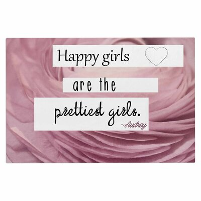 Happy Girls Doormat