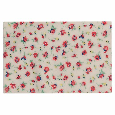Vintage Flower Love Doormat