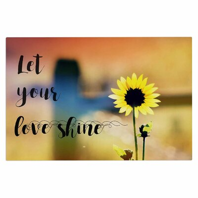 Let Your Love Shine Doormat