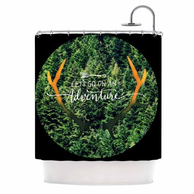 Adventure Photography Shower Curtain
