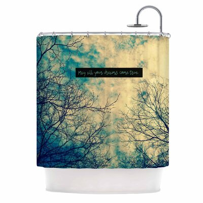May All Your Dreams Come True Nature Shower Curtain