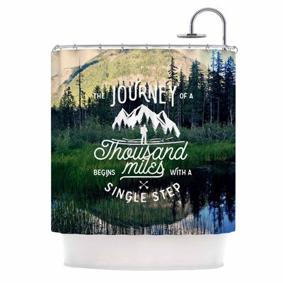 The Journey Photography Shower Curtain