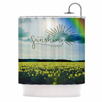 You Are My Sunshine,Rainbow Shower Curtain